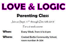 Love  Logic Class Flyer - 09.2019