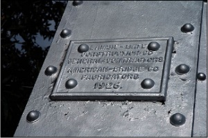 Gunnison River Bridge Plaque
